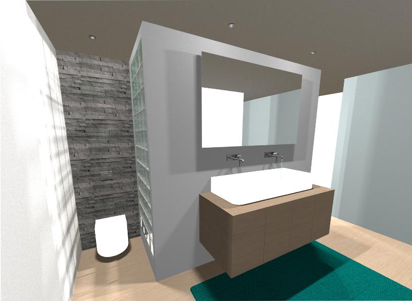 Ik ben eline haar gip 3d beelden interieur - Versieren haar badkamer ...
