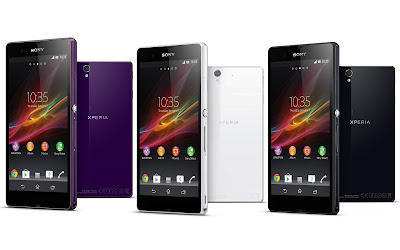 Sony Xperia Z - In All Colors