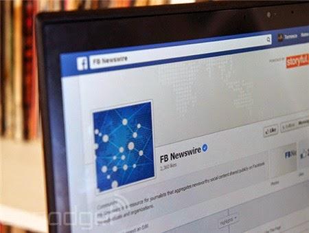 Facebook Newswire cung cấp các thông tin đã được kiểm chứng. Ảnh: Engadget