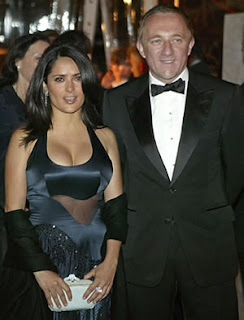 Salma Hayek with Husband