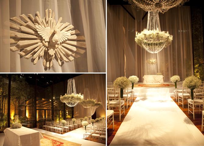 decoracao branca casamento:Dionete Lemos Eventos: Decoração azul e branca no casamento