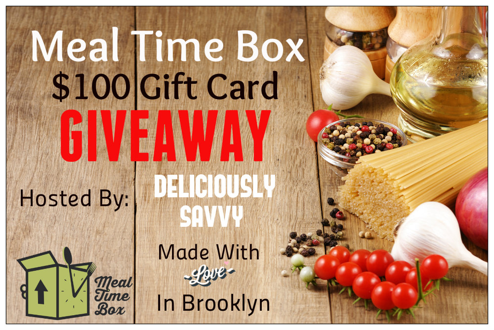 Meal Time Box Giveaway