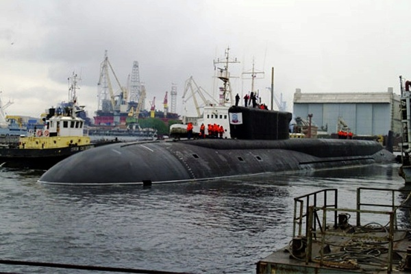 K-535 Yuriy Dolgorukiy Borei Class
