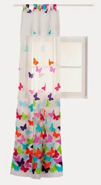 Mam de dos terremotos mariposas cortinas cojines for Visillos infantiles