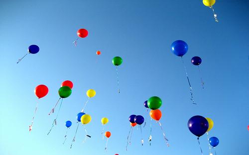 Many Beautiful Balloons In The Sky : Robins Ramblings: Hearts a Healin