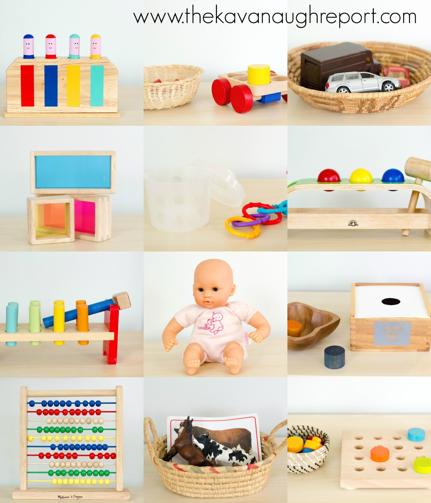 Toys For 20 : Montessori inspired toys to months