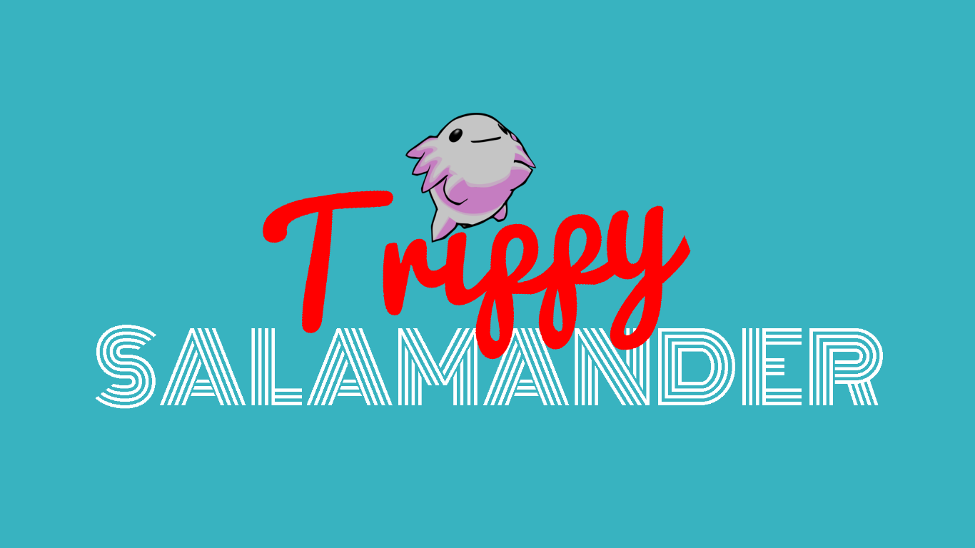 Trippy Salamander by bromela.in