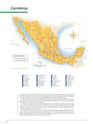 Pagina 40 Atlas de México 4to grado
