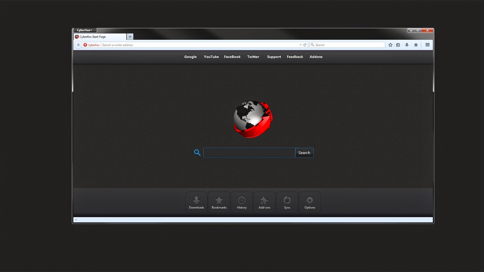 Cyberfox 64-Bit Web Browser