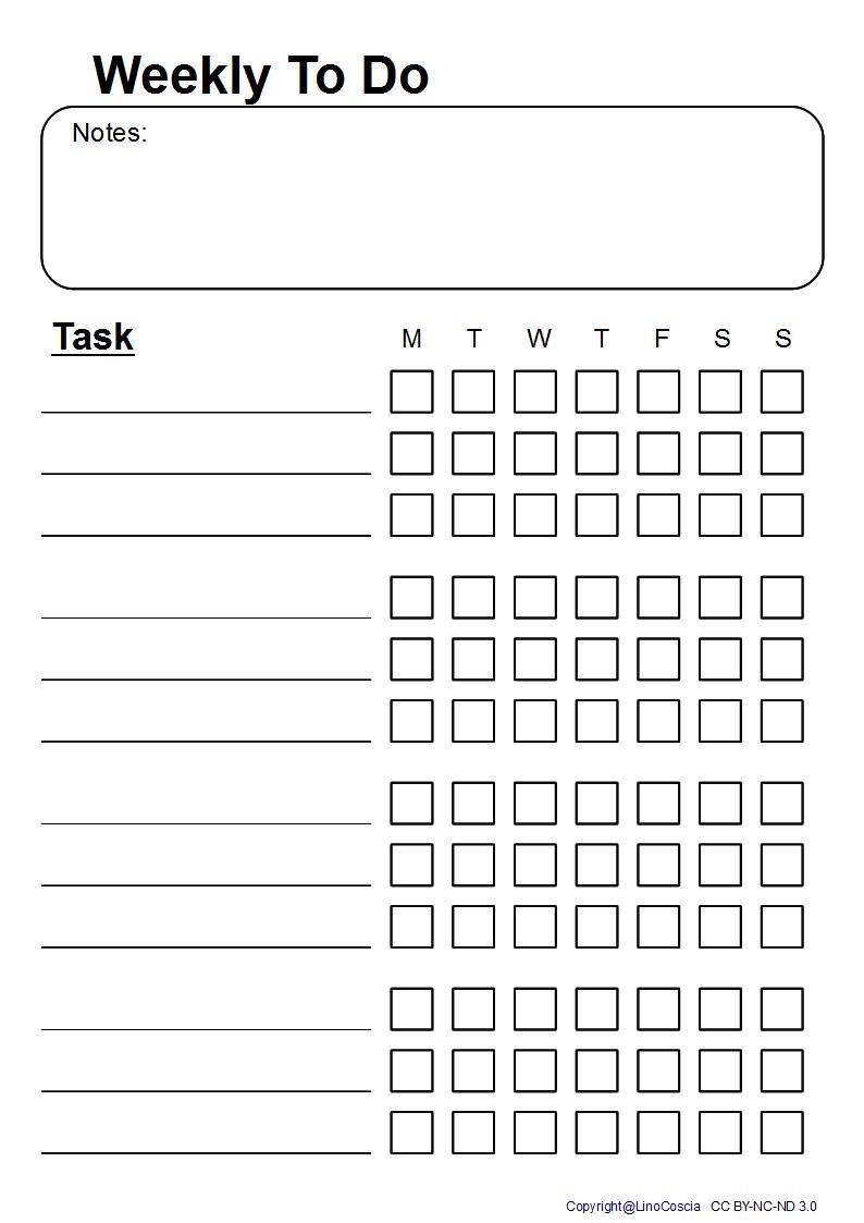 Personal Evolution: To Do Liste für täglich wiederkehrende Aufgaben ...