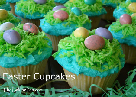 easter cupcakes for kids to make. I made cupcakes similar to