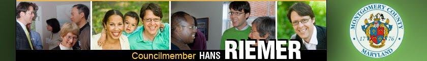 Hans Riemer | Montgomery County Councilmember
