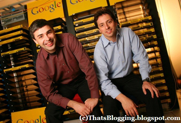 Larry Page And Sergey Brin Google