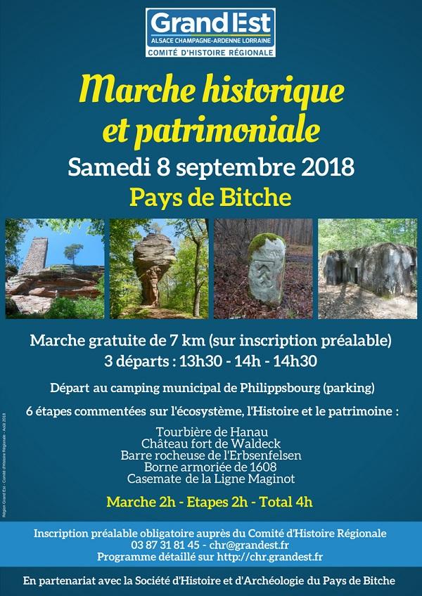 Bitche - Marche historique