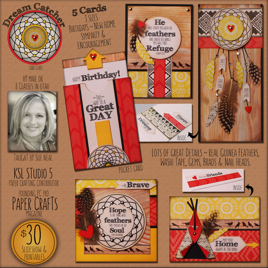Dream Catcher Card Kit