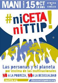 #niCETAniTTIP! Mani en Madrid el 15O a las 18:00