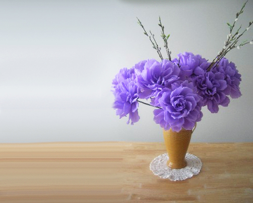 Handmade Paper Flowers Design