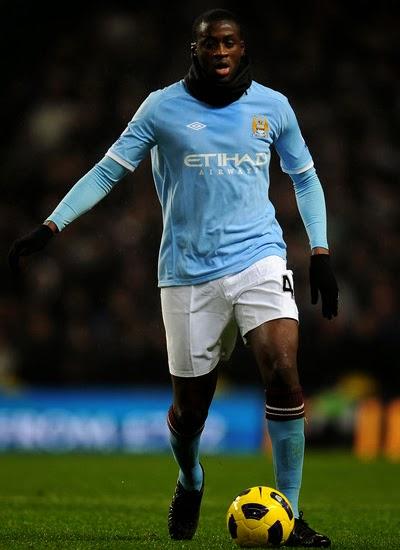 Yaya Toure Manchester City Transfer PSG 20132014