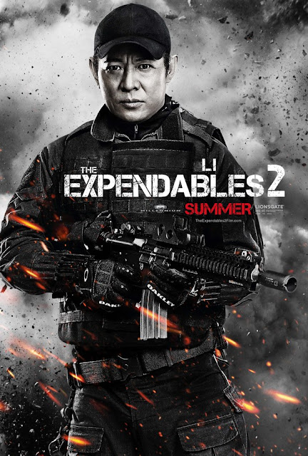 the expendables 2  jet li