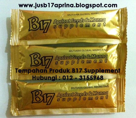 Jus B17 Aprina Apricot & Manna