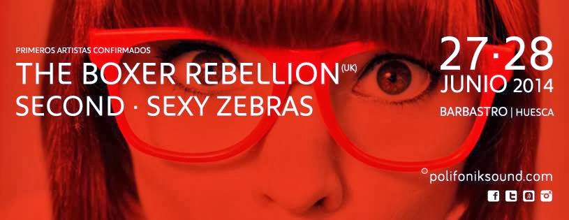 Polifonik Sound, The Boxer Rebellion, Second, Sexy Zebras