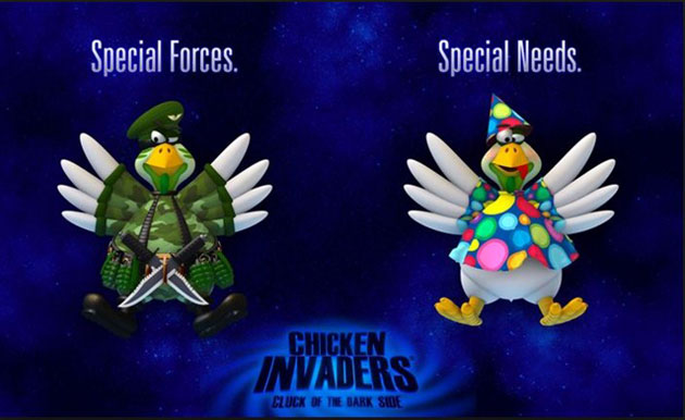 Download Chicken Invaders 5 Cluck of The Dark Side Game