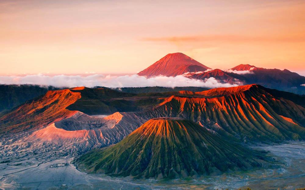 Mountain Background Tumblr Monte Bromo – Indon&...
