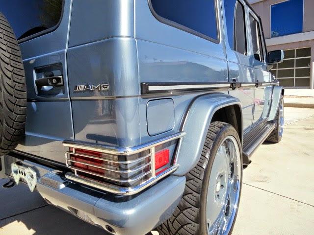mercedes g55 gelandewagen