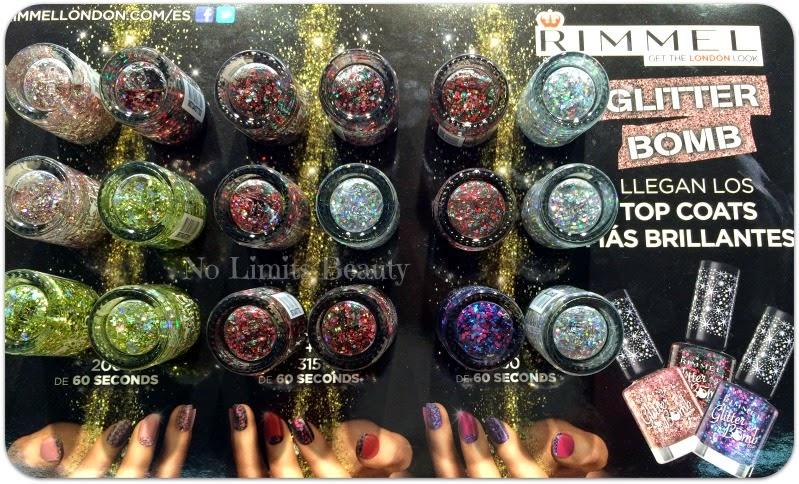 Rimmel London - Glitter Bomb Top Coats