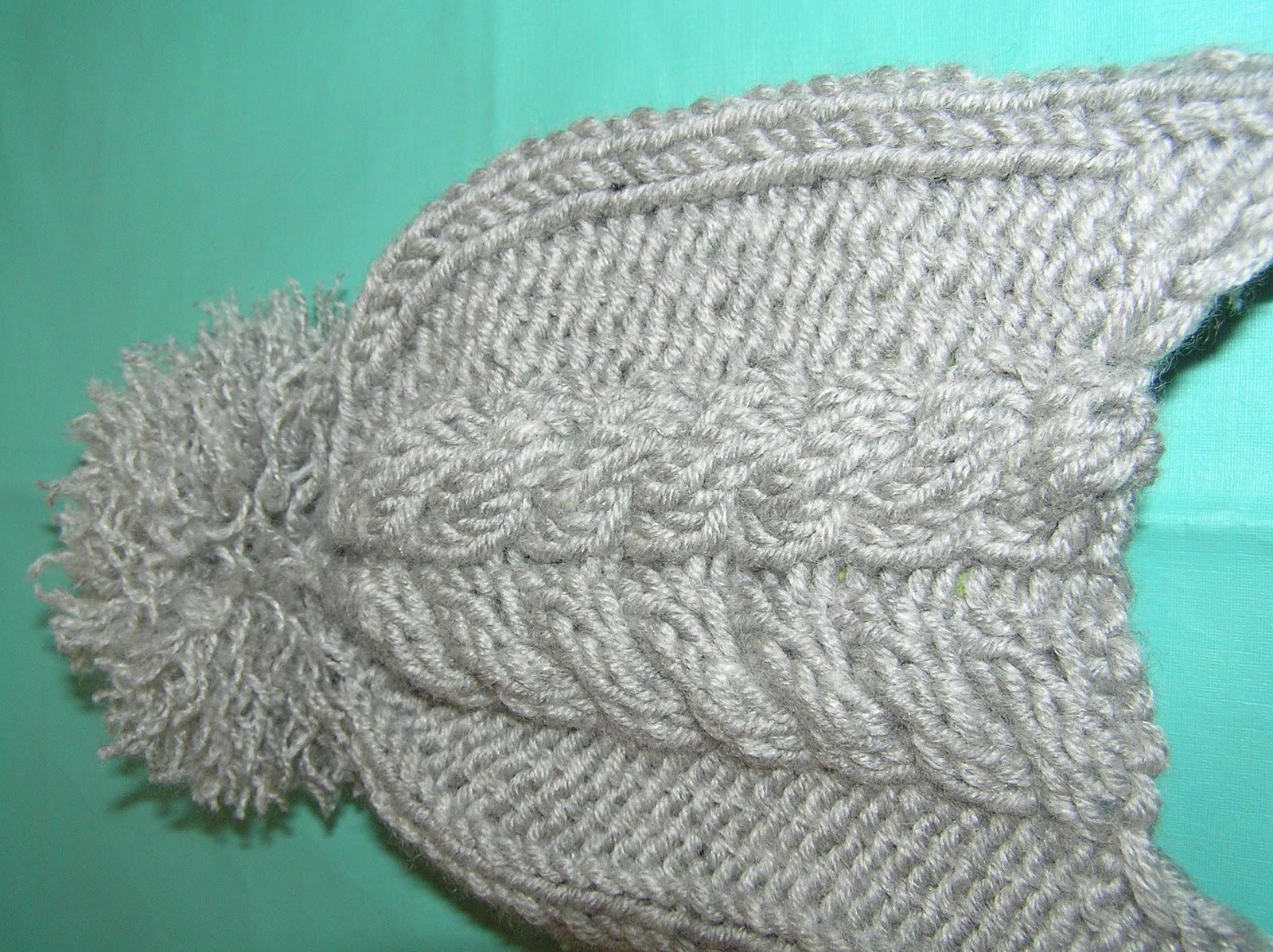 Вязание волн спицами с описанием