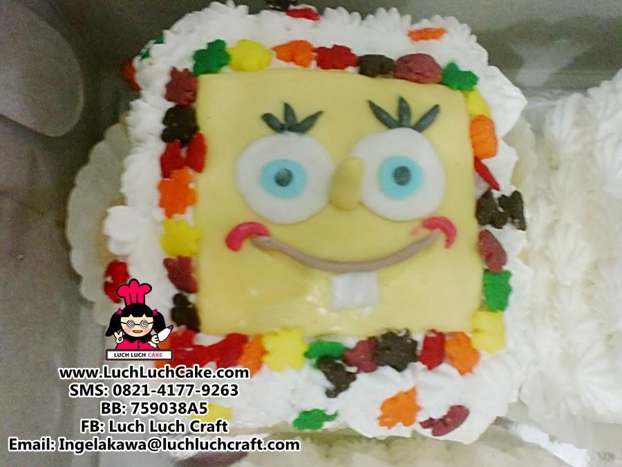 kue tart spongebob