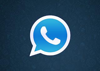 تحميل برنامج الواتس اب بلس الازرق