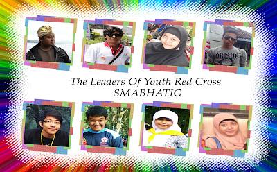 Para Pemimpin Palang Merah Remaja SMABHATIG dari masa ke masa