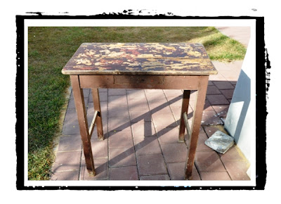 upcycling an old desk