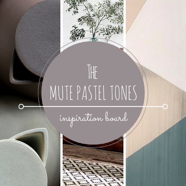Mute pastels - Color inspiration - The Round Button blog
