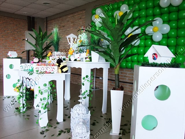 decoração festa infantil sininho