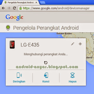 Cara melacak peta HP Android yang dicuri menggunakan Android Device Manager (ADM) dengan cepat dan tepat