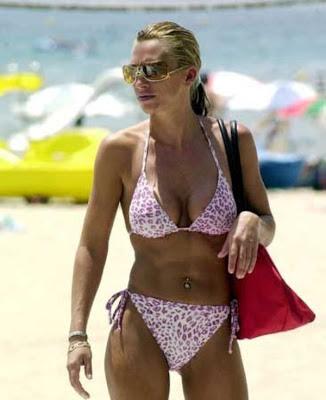 bikini joven belen esteban rosa cuerpazo