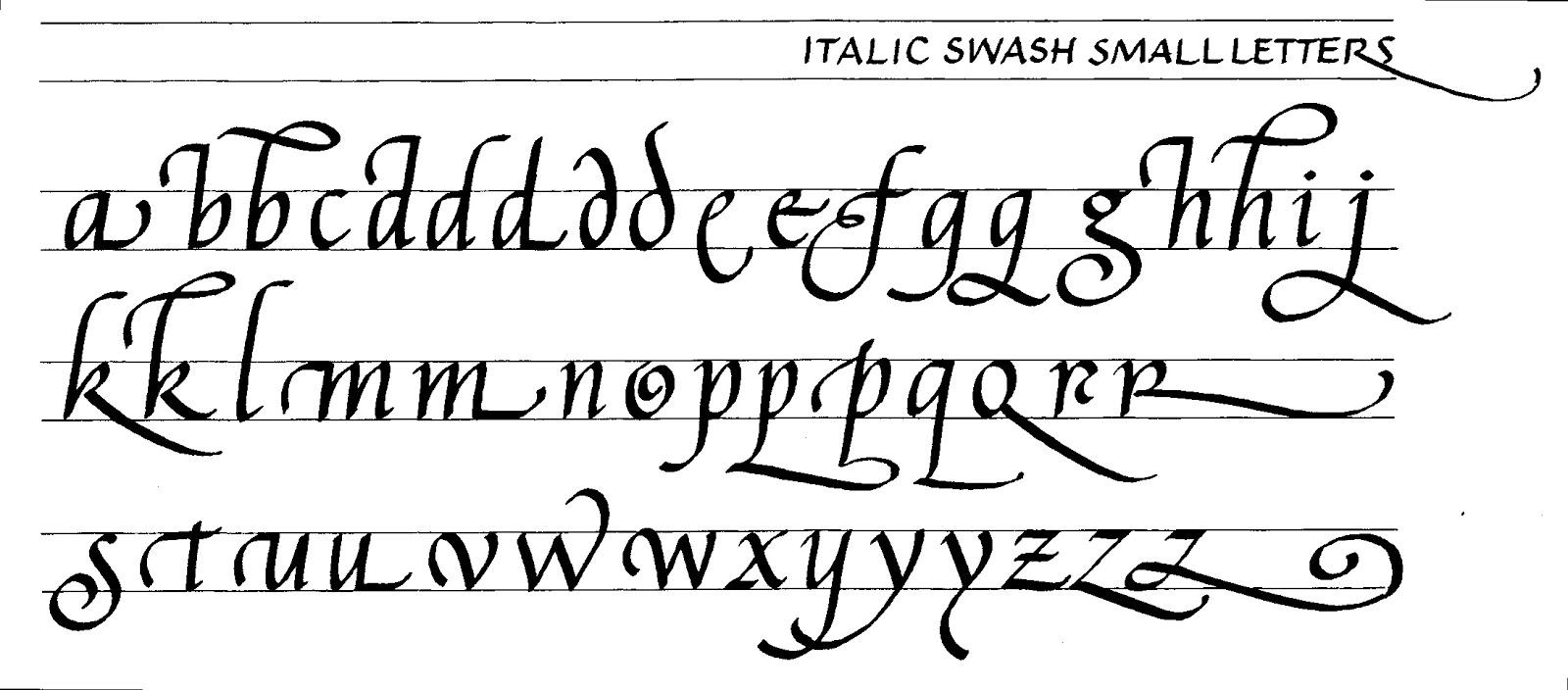 Margaret shepherd calligraphy july