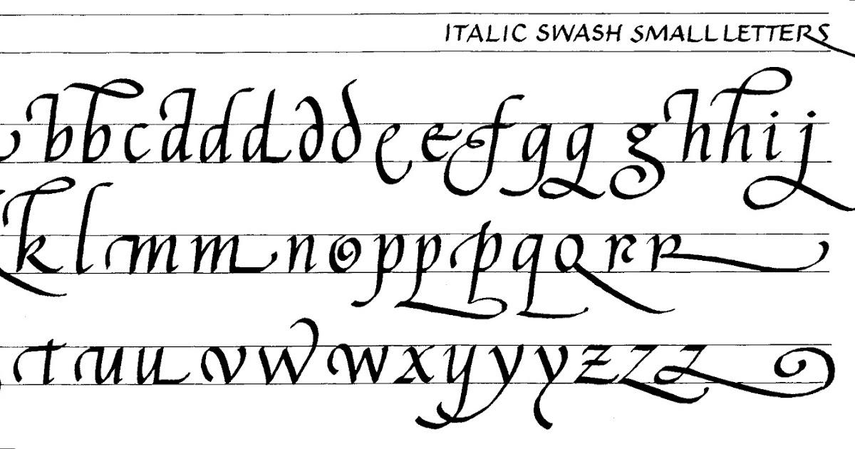 Margaret Shepherd Calligraphy Blog 179 Italic Swash