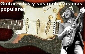 guitarristas y sus guitarras