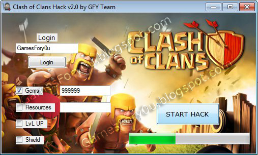 Clash of Clans Hack v2.0 [2013] [NEW UPDATE] [Free Download