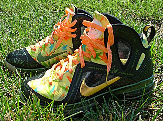 new product 5d851 71765 Custom Kicks Nike LeBron 9 Elite