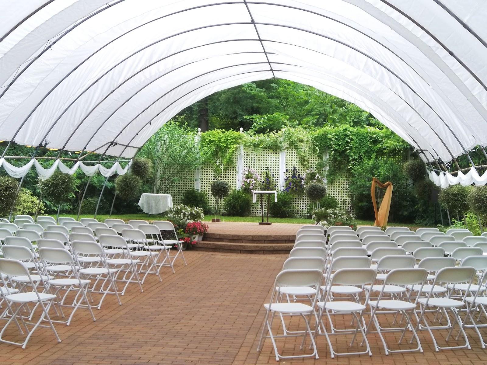 Michigan City Harpist Wedding At The International Friendship Gardens The Classic Harpist