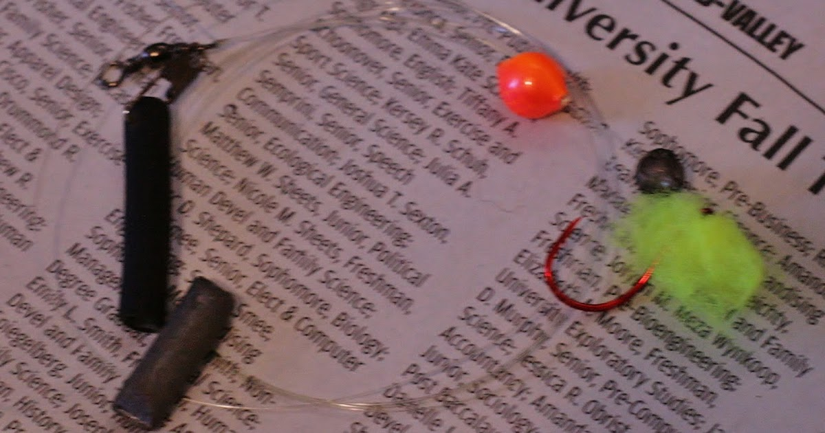 Ronald borst journalism bobber down a beginner 39 s guide for Bobber fishing for steelhead