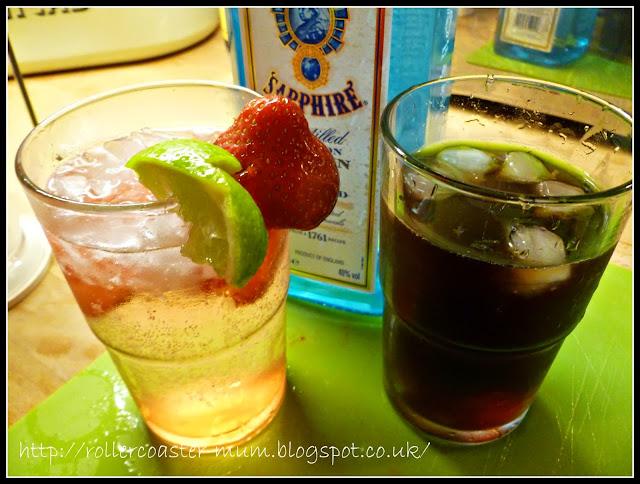 Strawberry and Gin Wimbledon cocktail #cbias