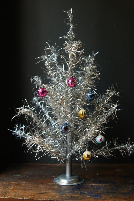 Vintage Metal Christmas Tree