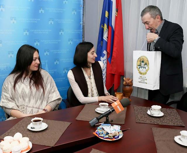 В Сергиев Посад прибыла делегация гимназистов из сербского города-побратима
