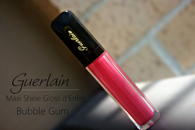 Guerlain Maxi Shine Gloss d'Enfer Lip Gloss in Bubble Gum Review, Photos & Swatches