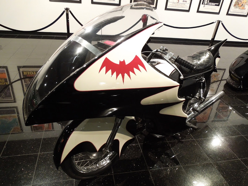 1966 Batman movie Yamaha Batcycle